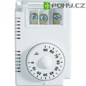 Termostat na DIN lištu DCTC-090C, 0 až 90 °C, bílá