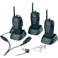 Profesionální PMR vysílačky Kenwood TK-3301E, 3 ks + kufr