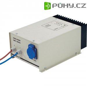 Sinusový měnič napětí DC/AC Berel SP 500S-24, 24V/230V, 500 W