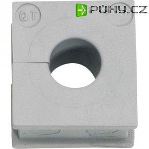 Kabelová objímka Icotek QT 7 (42507), šedá