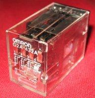 Relé Omron G2A-432A 110VAC, 4x přep.kontakt