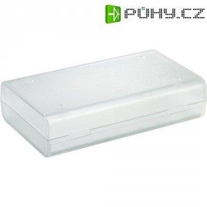Univerzální pouzdro Strapubox 2515KL, (d x š x v) 124 x 72 x 30 mm, průhledná