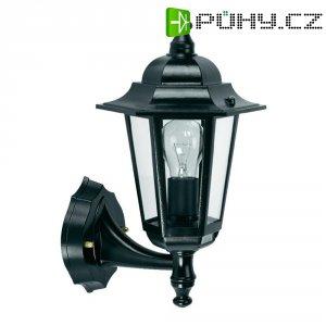 Venkovní nástěnné svítidlo s PIR GEV LLA 1473, E27, černá