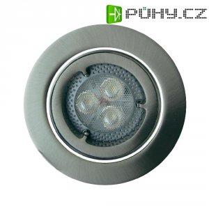 Vestavné světlo Osram KIT LED Pro, 4.5 W, kulatý, kartáčovaný hliník