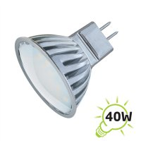 Žárovka LED MR16/12V 27SMD 4W - bílá teplá