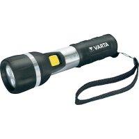 Kapesní LED svítilna Varta Day Light, černá/stříbrná