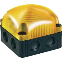 LED maják Werma Signaltechnik 853.300.54, IP66, žlutá