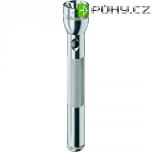 LED svítilna Mag-Lite 3-D-Cell, ST3D106, 4,5 V, stříbrná
