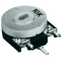 Uhlíkový trimr TT Electro, 21552405, 10 kΩ, 0,15 W, ± 20 %