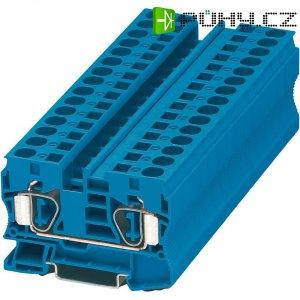 Průchodová svorka s tažnou pružinou Phoenix Contact ST 10 BU (3036123), modrá