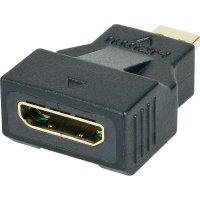 Adaptér s ethernetem HDMI MiniC zásuvka / Micro D zástrčka