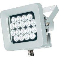 Venkovní LED reflektor Sygonix 202D18, 19 W, stříbrná/šedá
