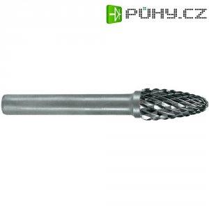 Rotační pilník Ruko, 116030, tvar F, kulatý oblouk, 6 mm