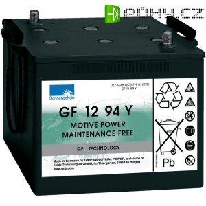 Gelový akumulátor, 12 V/93,5 Ah, Exide Sonnenschein GF-Y 8889775000