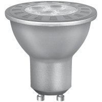 LED žárovka Osram, GU10, 4,5 W, 230 V, 53 mm, teplá bílá