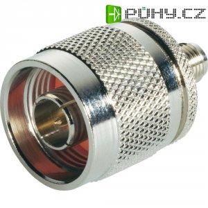 SMA zásuvka / N zástrčka BKL Electronic 409046, 50 Ω, adaptér rovný