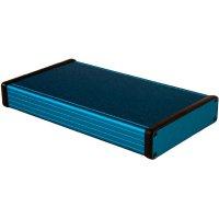 Univerzální pouzdro hliníkové Hammond Electronics, (d x š x v) 220 x 125 x 30,5 mm, modrá