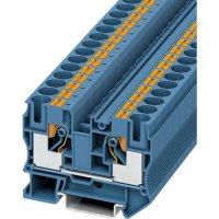 Svorka Push-in průchodová Phoenix Contact PT 10 BU (3212123), 10,2 mm, modrá