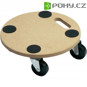 Transportní plošinka typ PA, nosnost 150 kg, 350 x 100 mm