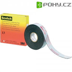 Samosvařitelná kaučuková páska 3M SCOTCH 13, HT-0020-0032-7, 19 mm x 4,5 m, černá