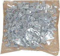 Kabelová příchytka 7mm šedá, balení 100ks