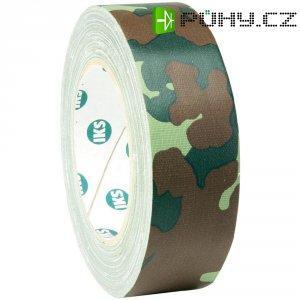 Jevištní lepící páska Gaffer, 38 mm x 25 m, maskáčová