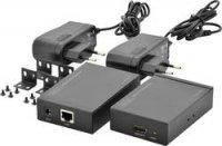 HDMI extender (prodlužovač) přes síť, až do 50 m, Digitus