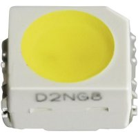 SMD LED PLCC2 Nichia, NESG064T G U/V, 20 mA, 3,1 V, 115 °, 870 mcd, zelená