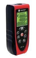 Laserový měřič vzdálenosti Toolcraft LDM 70