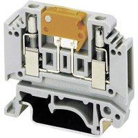 Měřicí oddělovací svorka Phoenix Contact MTK-P/P (3104013), šroubovací, 5,2 mm, šedá
