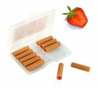 Elektronická cigareta - náplň Jahoda (0,0mg Nikotin)