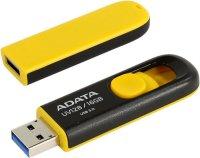 ADATA flashdisk USB UV128 16GB yellow(USB 3.0)