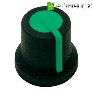 Otočný knoflík Cliff CL170828BR, pro sérii K87MAR, 6 mm, hladký, zelená