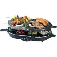 Stolní raclette gril Silva Homeline RGS 90T-A, 890021, 1200 W, černá/tmavě šedá