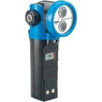 Ruční svítilna s otočnou hlavou AccuLux HL20 459681, černá/modrá