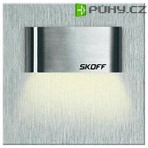 Vestavné LED osvětlení SKOFF Tango Mini Short, 10 V, 0,4 W, teplá bílá, nerez
