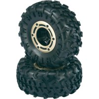 Monstertruck kolo Reely, 5 dvoj. paprsků, 1:10, 12 mm 6-hran, černá, 2 ks