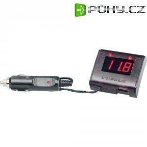 Voltmetr do autozásuvky Novitec APM-3 USB, 705APM3