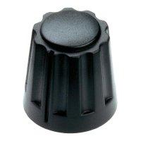 Otočný knoflík Mentor 4331.6000, 6 mm, matně černá