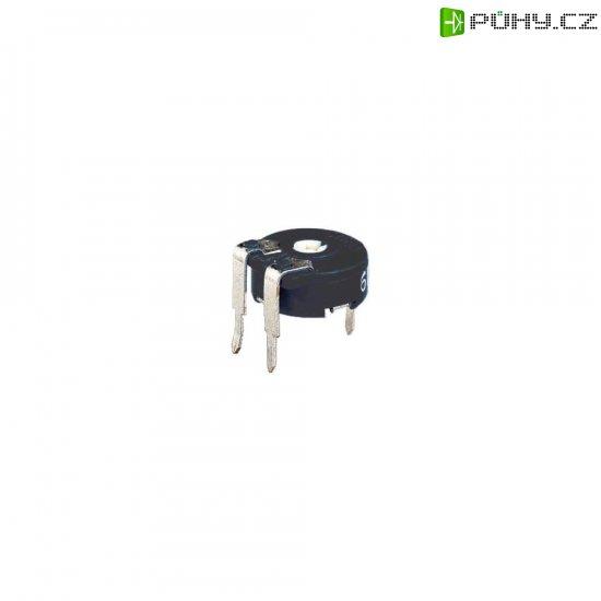 Miniaturní trimr Piher, horizontální, PT 10 LV 500R, 500 Ω, 0,15 W, ± 20 % - Kliknutím na obrázek zavřete