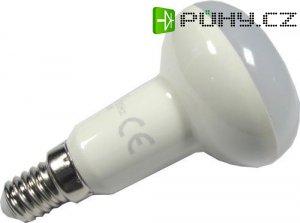 Žárovka LED E14 R50 reflektorová, bílá, 230V/6W