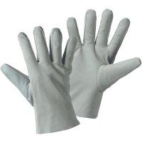 Pracovní kožené rukavice, velikost 7