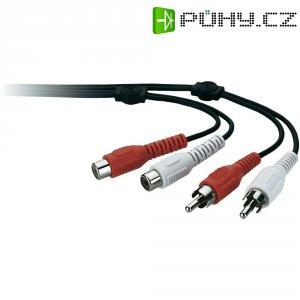 Prodlužovací kabel Belkin, cinch zástrčka/cinch zásuvka, černý, 3 m