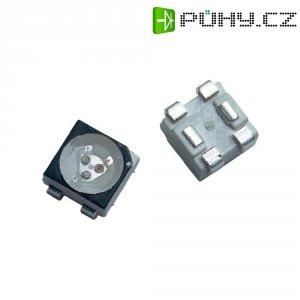 SMD LED Avago Technologies, ASMT-QTB4-0AA02, 20 mA, 2,1 V, 120 °, 620 mcd, červená/zelená/modrá