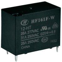 Solární relé do DPS Hongfa HF161F-W/012-HT, 12 V/DC, 31 A, 1 spínací kontakt, 1 ks