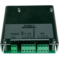 Stmívatelný LED-PWM-Modul FG Elektronik PWM 3, 10 - 24 V, 5 A na kanál