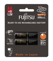 Baterie HR-3UTHCEX-2B BLACK PROFI AA 2x FUJITSU nabíjecí