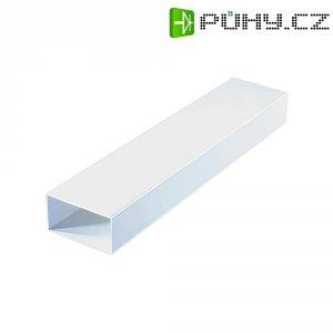 Plochý kanál Wallair 100 x 22 x 9 cm, bílá