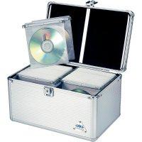 Hliníkový kufr pro 200 CD/DVD