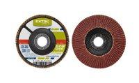 Kotouč lamelový šikmý korundový, P60, 125mm, KORUND, EXTOL CRAFT 260026